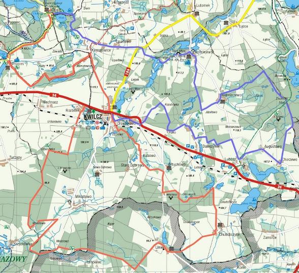 kwilec-mapa
